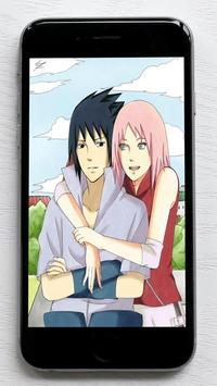 Sasuke and Sakura Wallpaper screenshot 1