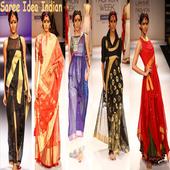 Saree Idea Indian icon