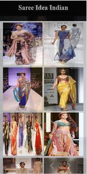 Saree Idea Indian poster