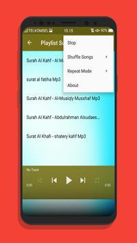 Surat Al Khafi Offline Mp3 screenshot 5