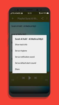 Surat Al Khafi Offline Mp3 screenshot 6
