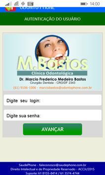 DF M. Bastos Odonto poster