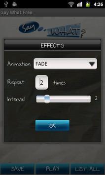 Say What? Free apk screenshot