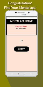 Mental Age Prank screenshot 5