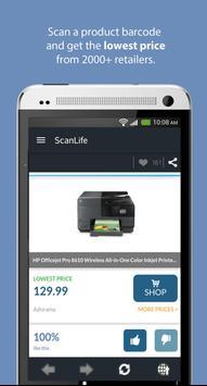 ScanLife Barcode & QR Reader apk screenshot