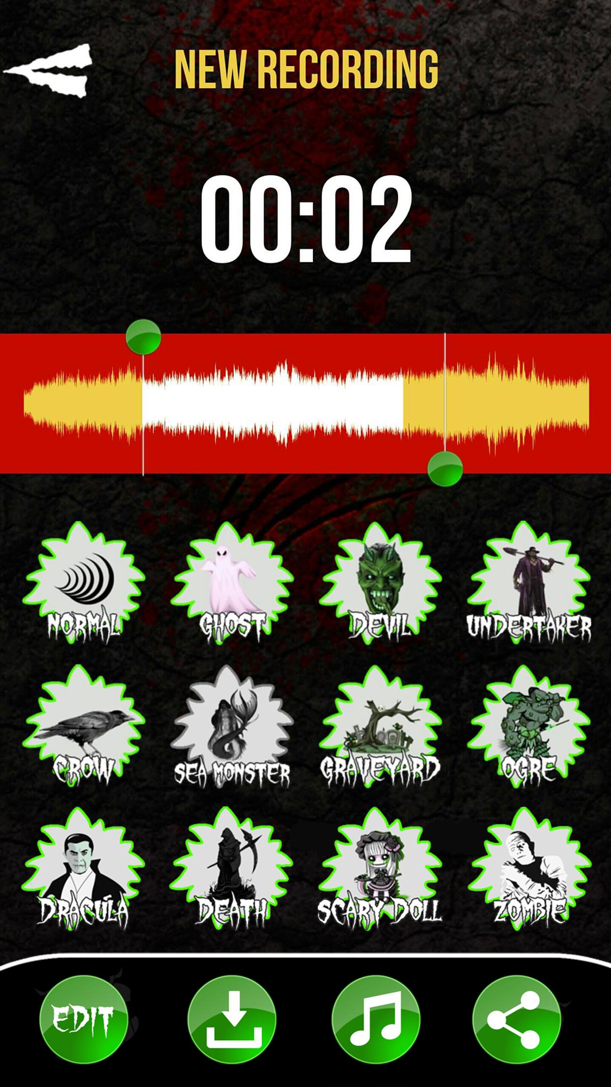 Scary Voice Changer - Horror Sound Effects cho Android - Tải về APK