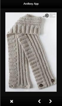 Scarf Crochet Patterns apk screenshot