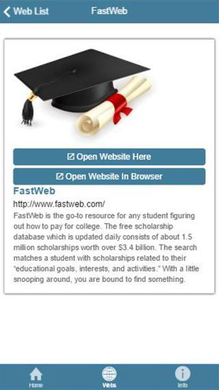 Best Free Websites to Find Scholarship for Android - APK