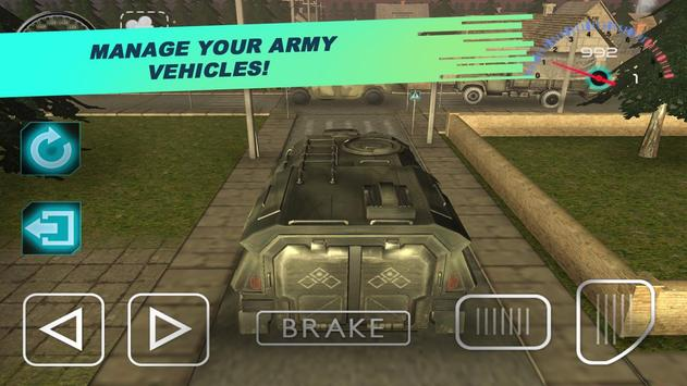 School US Army Driving 3D poster