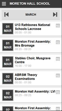 Moreton Hall School apk screenshot