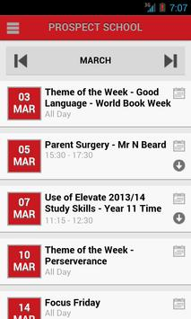 Prospect School apk screenshot