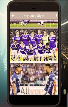 keyboard theme for Schalke 04 poster