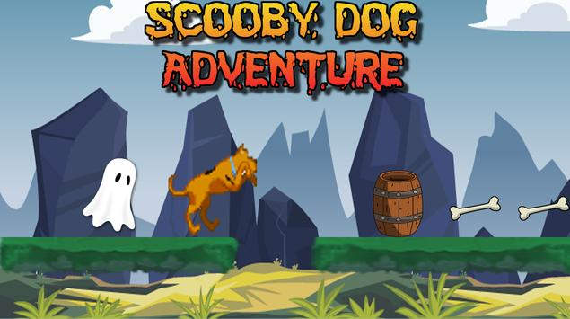 Subway Super scooby Run Surf Dog poster