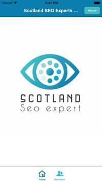 Scotland SEO Experts CRM poster