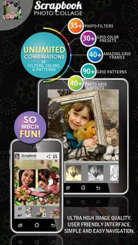 Scrapbook Photo Collage Maker HD poster