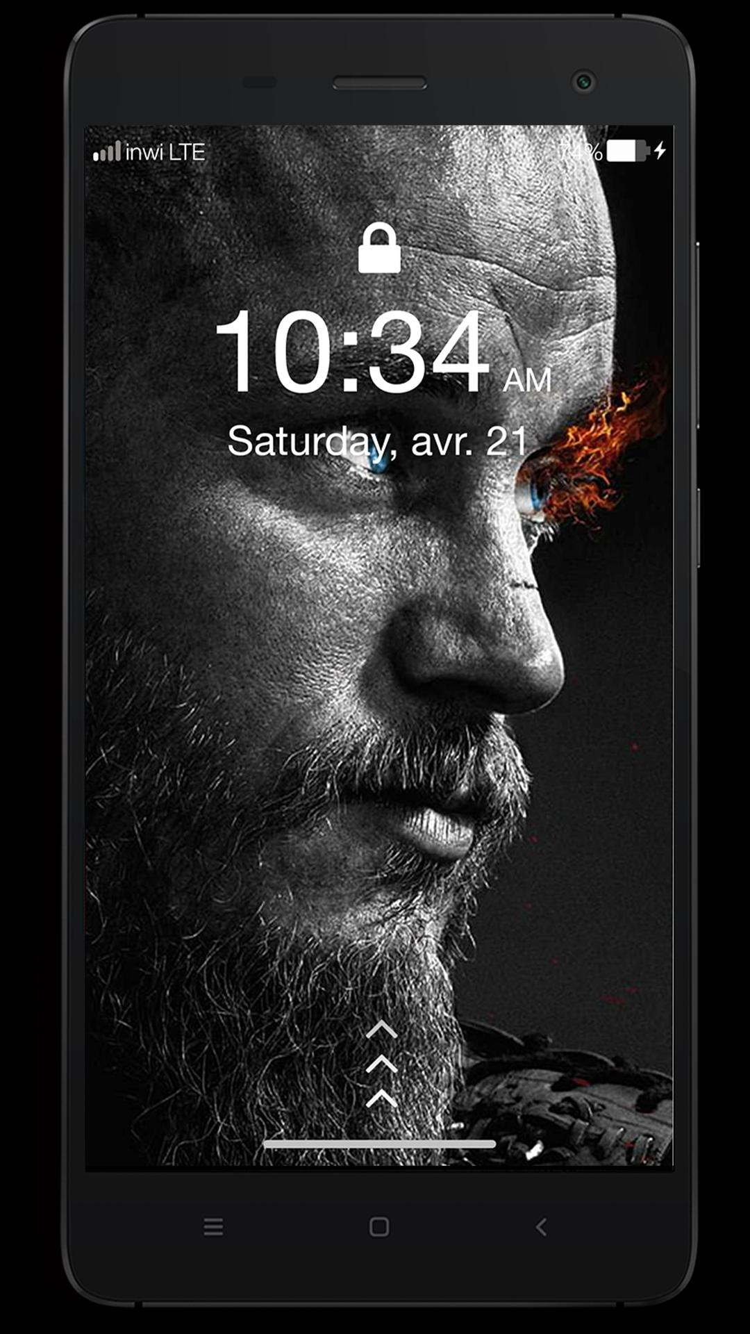 Ragnar Lothbrok Vikings Lock Screen Hd Wallpapers For