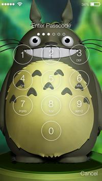 My Cute Little Neighbor Toto Art Screen Lock screenshot 1