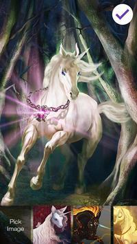 Magical Unicorn Art Screen Lock apk screenshot