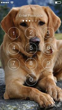 Golden Labrador Retriever Dog Puppies Screen Lock apk screenshot
