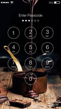Sweet Chocolate Is A Nice Gift Screen Lock screenshot 1