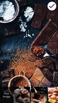 Sweet Chocolate Is A Nice Gift Screen Lock screenshot 2