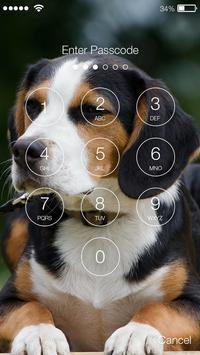 Smart Cute Little Beagle Dog Screen Lock apk screenshot