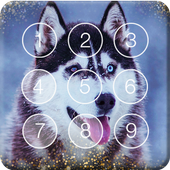 Smart Nice Siberian Husky Screen Lock icon