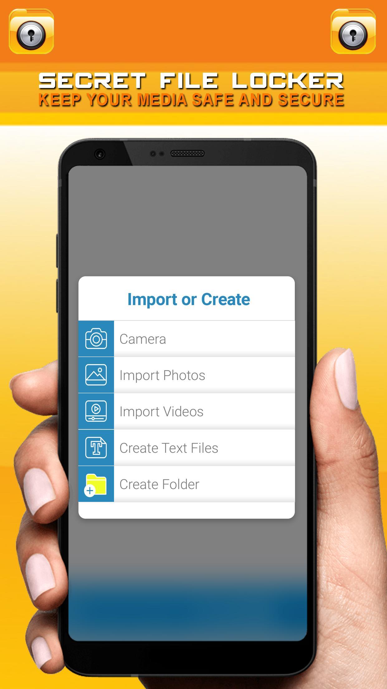 Secret File Locker - Security Lock App for Android - APK Download