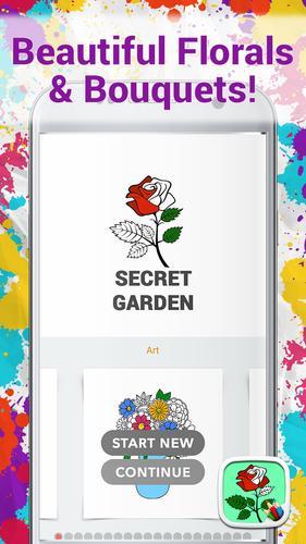 Jardim Secreto Para Colorir APK Baixar