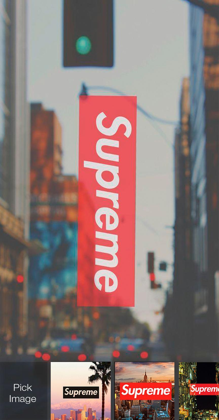 Supreme Bape Countdown Wallpaper Lock Screen For Android