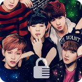 BTS  Pin App Lock Security Zeichen