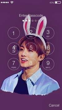 BTS  Pin App Lock Security Screenshot 1