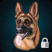 German Shepherd Dog Breed App Lock icon
