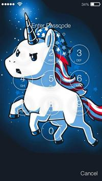 Magic Unicorn Smart App Lock Security screenshot 1
