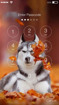 Husky HD Free PIN Lock Security apk screenshot