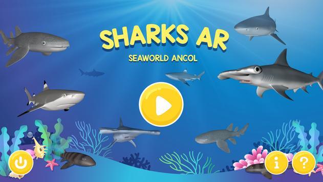 Sharks AR SeaWorld Ancol poster