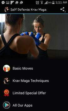 Self Defense Krav Maga poster
