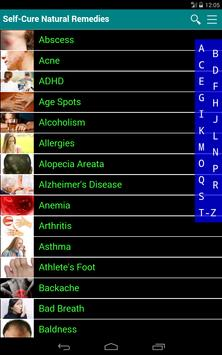 Self Cure home remedies for disease and illness apk screenshot