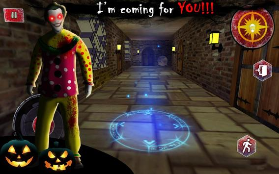 Scary Clown Neighbor Horror Game screenshot 1