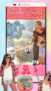 Selfie Photo Blend Collage poster