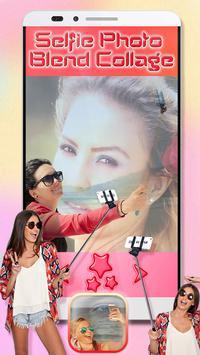 Selfie Photo Blend Collage screenshot 1