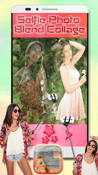 Selfie Photo Blend Collage screenshot 2