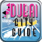 Dubai city tourist guide free icon