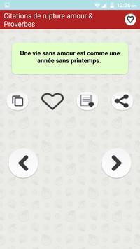Citations Sur La Rupture Amour screenshot 6