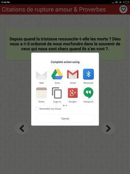 Citations Sur La Rupture Amour screenshot 11