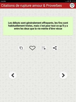 Citations Sur La Rupture Amour screenshot 22