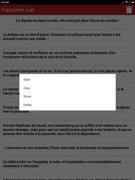 Citations: Travail Acharné screenshot 10
