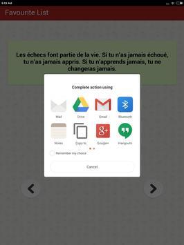 Citations: Travail Acharné screenshot 11