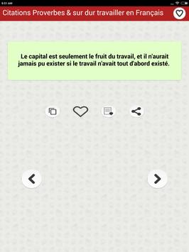 Citations: Travail Acharné screenshot 15