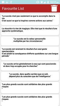 Citations: Travail Acharné screenshot 1